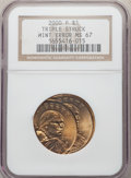 Errors, 2000-P SAC$1 Sacagawea Dollar -- Triple Struck -- MS67 NGC. The first strike was normal. The coin was struck two more ...