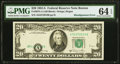 Shifted Black Portion of Third Printing Error Fr. 2074-A $20 1981A Federal Reserve Note. PMG Choice Uncirculated 64 EPQ...