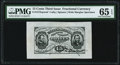 Fractional Currency:Third Issue, Fr. 1272SP 15¢ Third Issue Wide Margin Face PMG Gem Uncirculated 65 EPQ.. ...