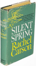 Books:Natural History Books & Prints, Rachel Carson. Silent Spring. Boston: Houghton Mifflin Company, 1962. First edition. Inscribed by Carson.. ...