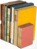 Books:Fine Press & Book Arts, [Limited Editions Club]. Group of Six Titles from the First Series of LEC. New York: 1929-1930. Each title signed by the art... (Total: 6 Items)