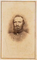 "Photography:CDVs, Thomas ""Stonewall"" Jackson Carte de Visite.. ..."