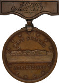 Militaria:Insignia, Private John Stray, 1st Regiment New York Engineers, Gillmore Medal. ...