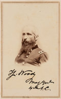 Photography:CDVs, Major General Thomas J. Wood Carte de Visite Signed...