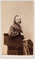 Photography:CDVs, George A. Custer Carte de Visite....