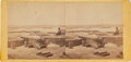 """Photography:Stereo Cards, """"Confederate Fortifications, Yorktown"""", Stereoview...."""