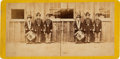 Photography:Stereo Cards, Three Drummer Boys Stereoview....