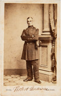 Photography:CDVs, Robert Anderson Carte de Visite Signed Twice.. ...