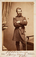 Photography:CDVs, Oliver O. Howard Carte de Visite Signed...