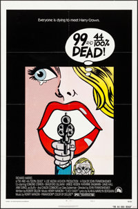 "99 and 44/100% Dead (20th Century Fox, 1974). Folded, Very Fine. One Sheet (27"" X 41"") Style A. Crime"
