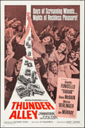 "Movie Posters:Action, Thunder Alley (American International, 1967). Folded, Very Fine. One Sheet (27"" X 41""). Action.. ..."