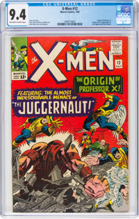 X-Men #12 (Marvel, 1965) CGC NM 9.4 Off-white to white pages