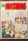 "Memorabilia:Miscellaneous, Marie Severin Shock SuspenStories #16 Color Guide Complete 7-Page Story ""The Hazing"" (EC, 1952). ..."