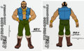 Animation Art:Color Model, Mister T Color Model Cels Group of 2 (Ruby-Spears, 1983).... (Total: 2 Items)
