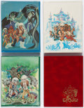 Memorabilia:Comic-Related, Elfquest Hardcover Limited Editions Group of 5 (Downing/Underwood Miller).... (Total: 5 Items)