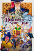 Memorabilia:Movie-Related, The Hunchback of Notre Dame Theatrical Double Sided Poster (Buena Vista, 1996). ...