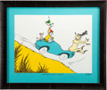 "Animation Art:Seriograph, Dr. Seuss ""Would You? Could You? In a Car?"" Limited Edition Serigraph PC #LXXVII/XCIX (Dr. Seuss/The Chase Group, 2005)...."