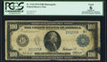 Fr. 1116 $100 1914 Federal Reserve Note PCGS Apparent Good 6