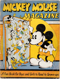 Mickey Mouse Magazine #1 (K. K. Publications, 1935) Condition: GD-