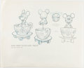 Animation Art:Concept Art, Disney Die-Cast Toy Original Concept Art Group of 5 (Walt Disney, c. 1980s).... (Total: 5 Original Art)