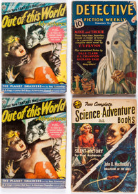 Assorted Pulps Group of 5 (Various, 1939-53) Condition: Average GD.... (Total: 5 Items)