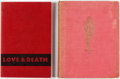 Books:Reference, Parade of Pleasure #nn and Love and Death Group (Derek Verschoyle Limited/Breaking Point, 1949-54).... (Total: 2 Items)
