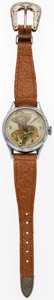"Premiums:Radio, Gene Autry ""Six Shooter"" Watch (New Haven Watch Co., 1948)...."