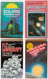 Assorted Vintage Science Fiction & Fantasy Paperbacks Box Lot (Various, 1960s-2000s).... (Total: 5 Box Lots)