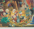 Memorabilia:Disney, Carl Barks An Embarrassment of Riches Sharper Image Edition Signed Limited Edition Lithograph Print #11/500 (Anoth...