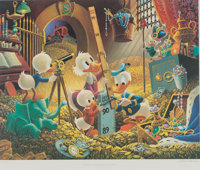 Carl Barks An Embarrassment of Riches Sharper Image Edition Signed Limited Edition Lithograph Print #11/500 (Anoth