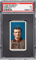 Baseball Cards:Singles (Pre-1930), 1909-11 T206 Sovereign 150 Rube Waddell (Portrait) PSA EX 5 - Pop One, None Higher for Brand/Series. ...
