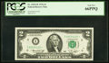 Small Size:Federal Reserve Notes, Fr. 1935-I* $2 1976 Federal Reserve Star Note. PCGS Gem New 66PPQ.. ...
