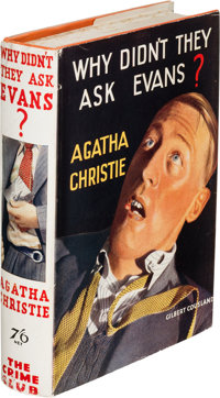 Agatha Christie. Why Didn't They Ask Evans? London: The Crime Club Ltd. By W. Collins Sons & Co