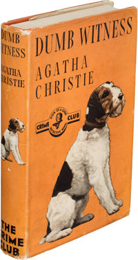Agatha Christie. Dumb Witness. London: The Crime Club by Collins, 1937. First edition