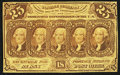 Fractional Currency:First Issue, Fr. 1281 25¢ First Issue About New.. ...