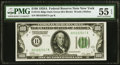Small Size:Federal Reserve Notes, Fr. 2151-B $100 1928A Dark Green Seal Federal Reserve Note. PMG About Uncirculated 55 EPQ.. ...