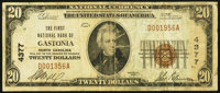 Gastonia, NC - $20 1929 Ty. 1 The First NB Ch. # 4377 Fine