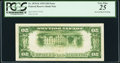 Fr. 1870-K $20 1929 Federal Reserve Bank Note. PCGS Very Fine 25
