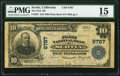 National Bank Notes:California, Scotia, CA - $10 1902 Plain Back Fr. 627 The First NB Ch. # 9787 PMG Choice Fine 15. ...