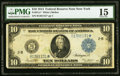Large Size:Federal Reserve Notes, Fr. 911c* $10 1914 Federal Reserve Star Note PMG Choice Fine 15.. ...