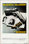 """Movie Posters:Action, The Getaway (National General, 1972). Folded, Very Fine. One Sheet (27"""" X 41""""), Lobby Cards (7) (11"""" X 14""""), & Mini Lobby Ca... (Total: 9 Items)"""