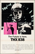 "Movie Posters:Science Fiction, THX 1138 (Warner Brothers, 1971). Folded, Overall: Very Fine. One Sheet (27"" X 41"") & Lobby Cards (7) (11"" X 14""). Science F... (Total: 8 Items)"