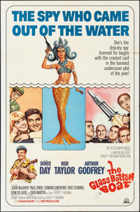 """The Glass Bottom Boat (MGM, 1966). Folded, Very Fine-. One Sheet (27"""" X 41"""") & Lobby Card Set of 8 (11&quo..."""