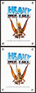 "Heavy Metal (Columbia, 1981). Very Fine. Presskits (2) Identical (9"" X 12"") with Photos (12) & Color S..."