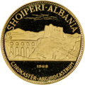 Albania, Albania: Republic gold Proof 50 Leke 1968 PR66 Ultra Cameo NGC,...