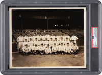 1927 New York Yankees Team Original Photograph by Cosmo-Sileo, PSA/DNA Type 1