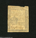 "Colonial Notes:Pennsylvania, Pennsylvania ""April 3, 1772"" 3d Very Good...."