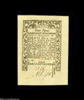 Colonial Notes:Rhode Island, Rhode Island May, 1786 9d Superb Gem New....