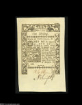 Colonial Notes:Rhode Island, Rhode Island May, 1786 1s Superb Gem New....