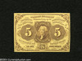Fractional Currency:First Issue, Fr. 1230 5c First Issue Very Choice New....